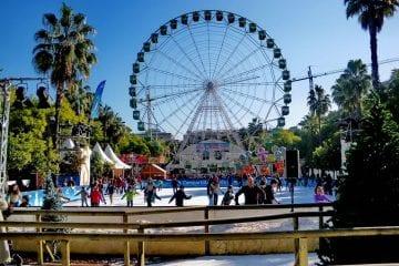 Decoración de escenarios con nieve Sevilla